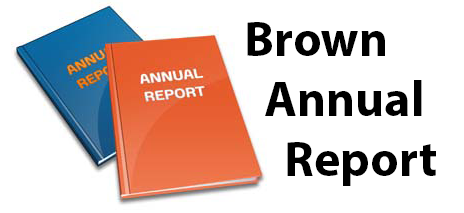 annual report brown